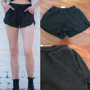 Brandy Melville Lisette Thermal Shorts